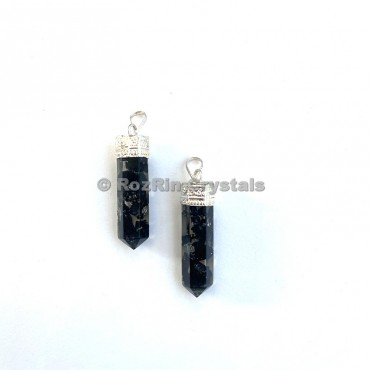 Black Tourmaline Orgonite Pencil Pendants
