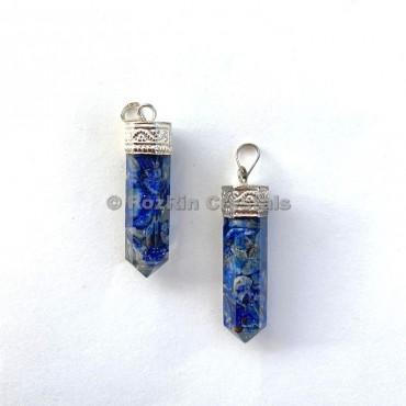 Lapis Lazuli Orgonite Pencil Pendants