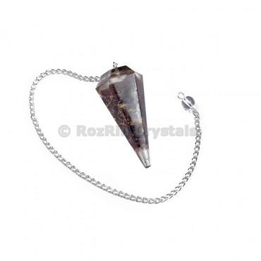 Garnet Orgone Pendulums