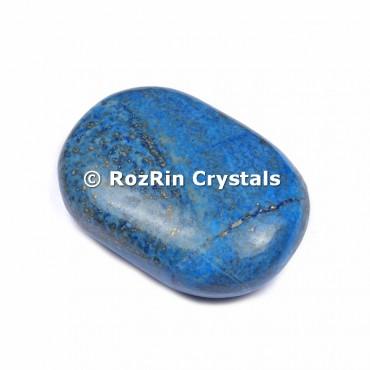 Lapis Lazuli Palm Stone