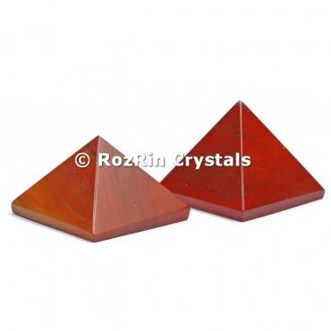 Red Jasper Pyramid