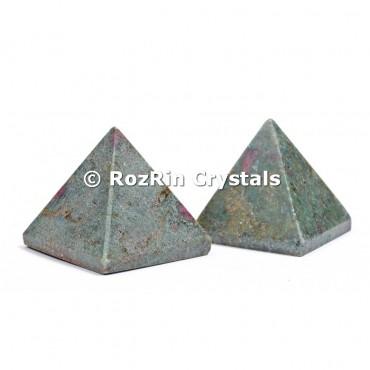 Ruby Fuchsite Pyramid