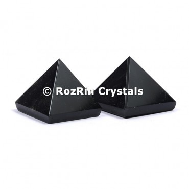 Black Tourmaline Pyramid
