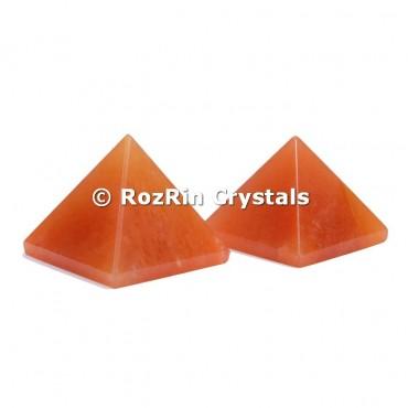 Peach aventurine Pyramid