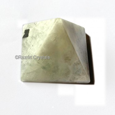 Rainbow Moonstone Gemstone Pyramid