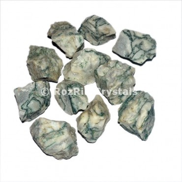 Tree Agate Raw Tumbled