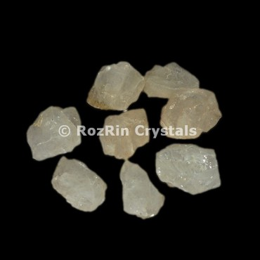 Crystal Quartz Raw Tumbled