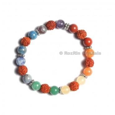 Chakra With Rudraksha Bracelets