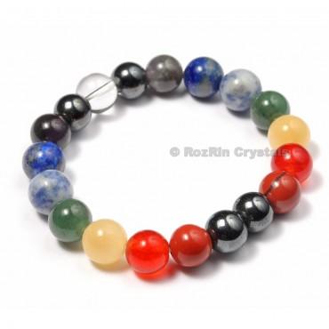 Chakra Stone Healing Energy Bracelets