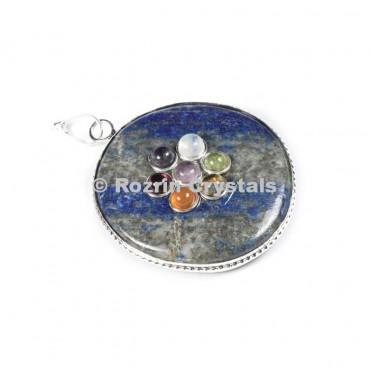 Lepis Chakra Disc Pandent