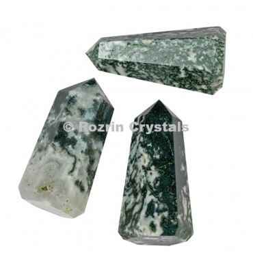 Tree Agate Healing Point