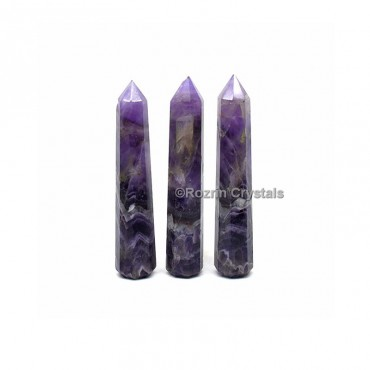 Amethyst Crystal Healing Obelisk