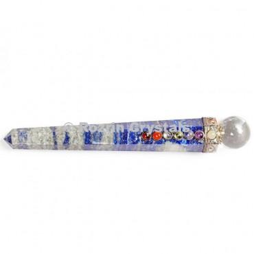 Lepis Lazuli Chakra Point Healing Wands