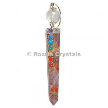 Amethyst  Chakra Point  Healing Wands
