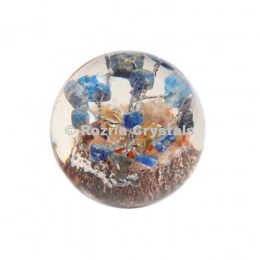 Lapis Lazuli Tree in Orgone Ball