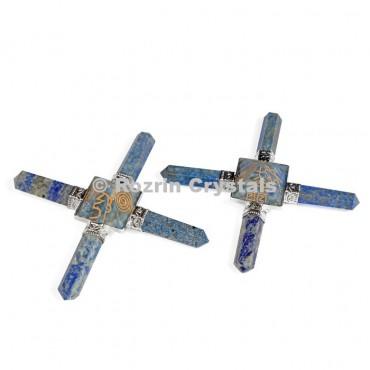 Lepis Lazuli Reiki Pyramid Healing Generator