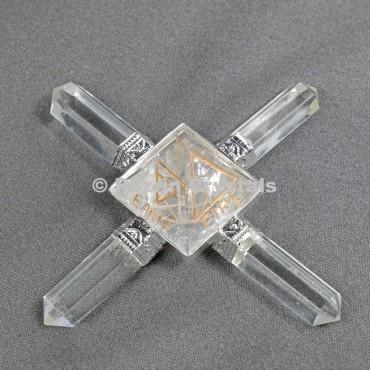 Crystal Quartz  Reiki Pyramid Healing Generator