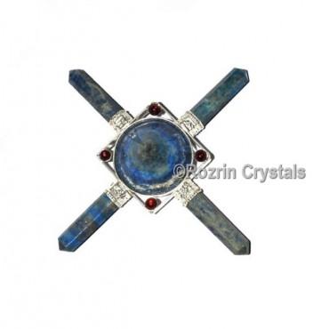 Lapis Lazuli Conical Pyramid Healing Generator