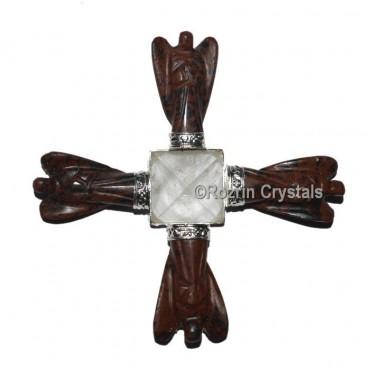 Mahagoni Obsidian Angel Healing Generator