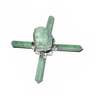 Green Aventurine Raw Energy Healing Generator