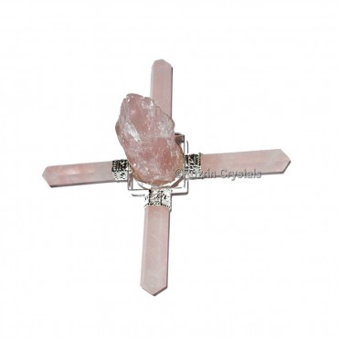 Rose Quartz Raw Energy Healing Generator