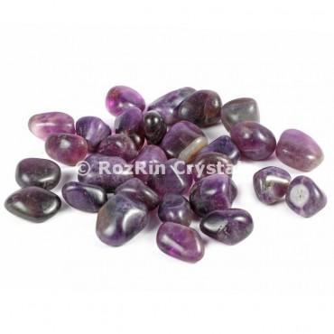 High Grade Amethyst   Tumbled Stones
