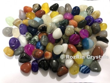Assorted Multi Stone Tumbled