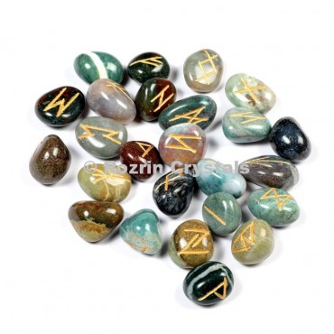 Fancy Jasper Rune Set