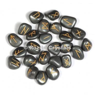 Hemetite Rune Set