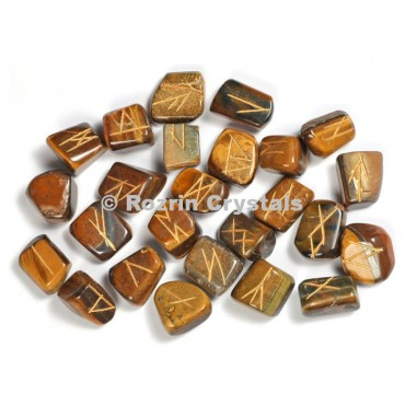 Tiger Eye Rune Set