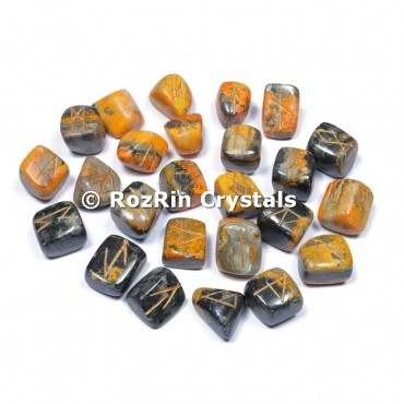 Bumble Bee Jasper Rune Set