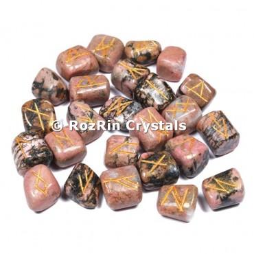 Rhodochrosite  Rune Set