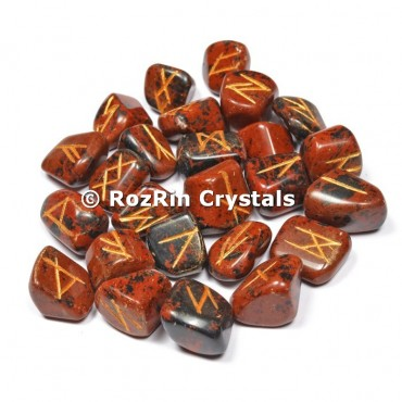 Mahaguni Obsidian  Rune Set