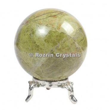 Unakite Spheres