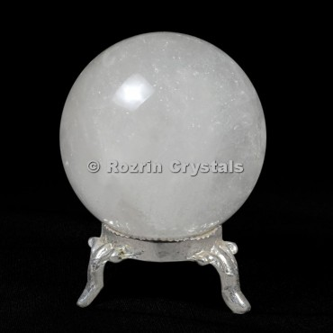 Crystal Quartz Spheres