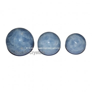 Angelite  Small Spheres