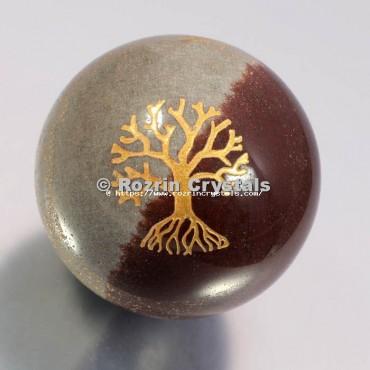 Narmada Lingam Tree Of Life Spheres