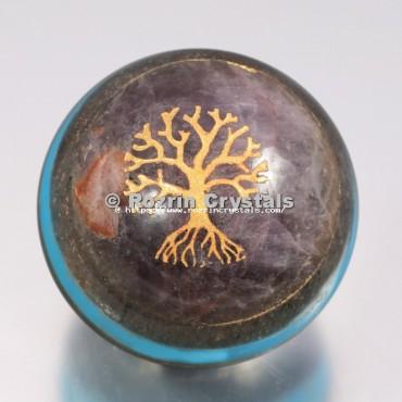 Chakra Bonded Tree of Life Spheres