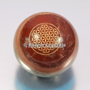 Chakra Bonded Flower Of Life Spheres