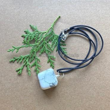 Howlite Tumbled Stone Necklace