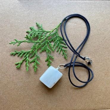 Scolecite Tumbled Stone Necklace