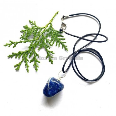 Sodalite Tumbled Stone Necklace
