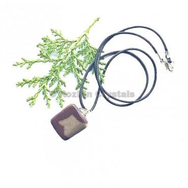Narmada Tumbled Stone Necklace
