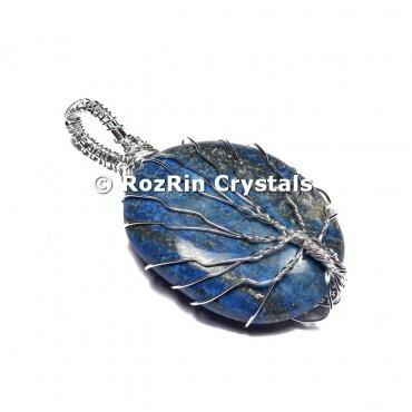 Lapis Lazuli Tree of life Pendants