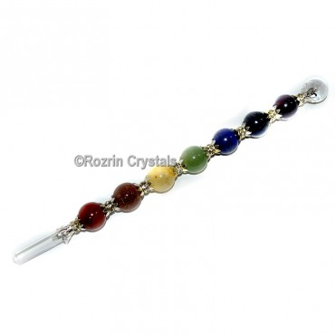 UnHeated Chakra Ball Wand For Healing