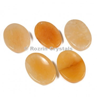 Yellow Aventurine Worry Stone