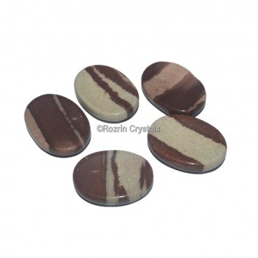Super Quality Narmada Worry Stone Oval