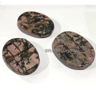 Rhodonite Worry Stone
