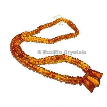 Beautiful Amber Necklace, 100% Natural Amber Necklace, Amber Beads,