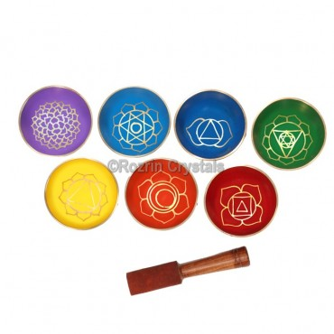 3 Inches Chakra Singing Bowl set
